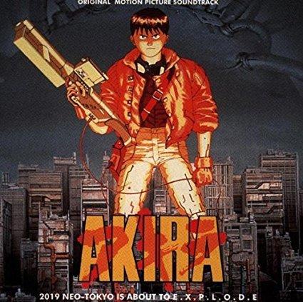 akira - original motion picture soundtrack - Geinoh Yamashirogumi CD 1993 demon UK used