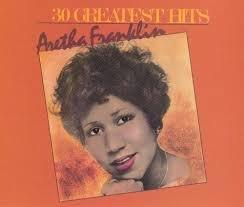 aretha franklin - 30 greatest hits CD 2-discs 1985 1986 atlantic used mint
