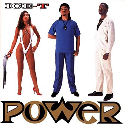 ice-t - power CD 1988 sire warner 13 tracks used mint