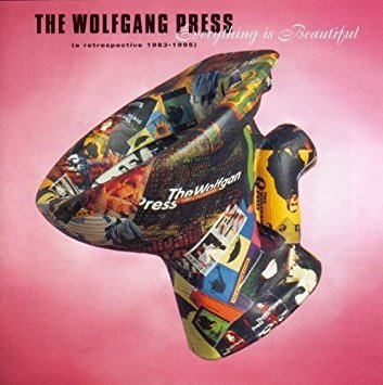 wolfgang press - everything is beautiful - a retrospective 1983 - 1995 CD 4AD 17 tracks used mint