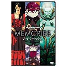 Katsuhiro Otomo presents memories DVD sony 2004 114 minutes used mint
