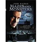 mazes and monsters - tom hanks DVD 2005 905 entertainment PG full screen used mint