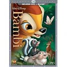bambi - 2-disc diamond edition DVD + bluray 2011 disney used mint