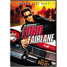 adventures of ford fairlane - andrew dice clay DVD 2003 20th century fox R used mint