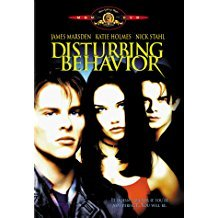 disturbing behavior - james marsden + katie holmes DVD 1998 MGM widescreen + standard used mint