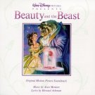 beauty and the beast - original motion picture soundtrack CD 1991 disney BMG Direct used mint