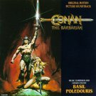 conan the barbarian - original motion picture soundtrack CD 1982 universal varese sarabande mint