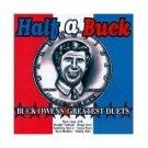 half a buck - buck owens' greatest duets CD 1996 K-tel 10 tracks used mint