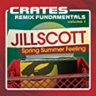 jill scott - crates remix fundamentals volume 1 CD 2012 hidden beach 11 tracks used mint