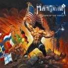 manowar - warriors of the world with a bonus track CD 2013 magic circle 12 tracks used mint