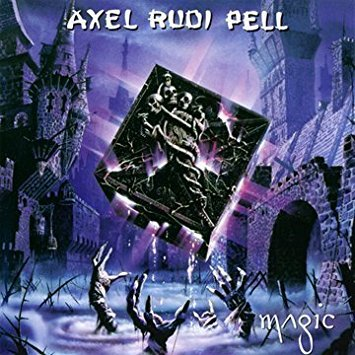 axel rudi pell - magic CD 2001 monsters of rock 10 tracks used mint