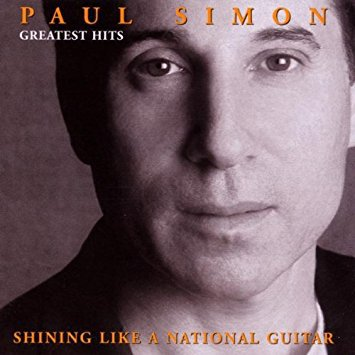 paul simon - greatest hits - shining like a national guitar CD 2000 warner 19 tracks used mint