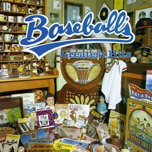 baseball's greatest hits - various artists CD 1989 rhino 22 tracks used mint