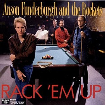 anson funderburgh and the rockets - rack 'em up CD 1989 black top 12 tracks used mint