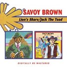 savoy brown - lion's share / jack the toad CD 2007 BGO used mint