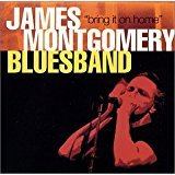 james montgomery bluesband - bring it on home CD autographed 2001 conqueroot 11 tracks used mint