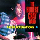 robert cray band - false accusations CD 1985 hightone 9 tracks used mint