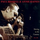 paul rishell & annie raines - moving to the country CD autographed 1999 tone-cool used mint
