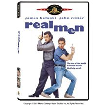 real men - james belushi + john ritter DVD 1987 2003 MGM 85 minutes used mint