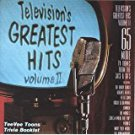 television's greatest hits volume II CD 1986 teevee toons TVT 65 tracks used mint