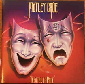 motley crue - theatre of pain CD 1985 elektra 10 tracks used mint