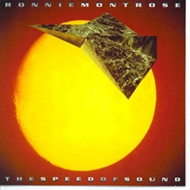 ronnie montrose - speed of sound CD 1988 azideam enigma 10 tracks used mint