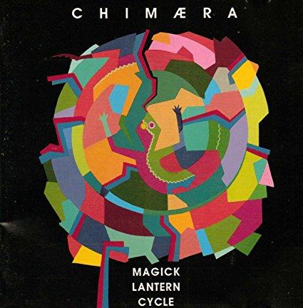 chimaera - magick lantern cycle CD 1993 durtro ourobouros music 9 tracks used mint