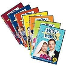 boy meets world - complete 7 seasons DVD 21-discs 2004 lionsgate used mint