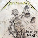 metallica - and justice for all CD 1988 blackened 9 tracks used mint
