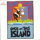once on this island - original cast recording CD 1990 RCA 19 tracks used mint