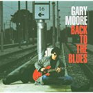 gary moore - back to the blues CD 2001 CMC sanctuary 10 tracks used mint