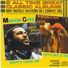 marvin gaye - what's going on + let's get it on CD 1986 tamla motown used mint