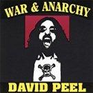 david peel - war & anarchy CD 1994 noiseville orange peel 12 tracks used mint