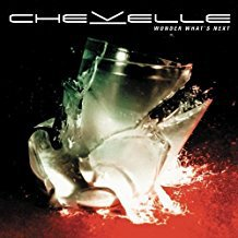 chevelle - wonder what's next CD 2002 sony 11 tracks used mint
