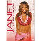 janet jackson - janet live in hawaii DVD 2002 warner used mint