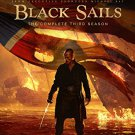 black sails - complete third season Bluray + digital HD 3-discs 2016 anchorbay used mint