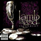 lamb of god - sacrament CD 2006 sony epic 11 tracks used mint