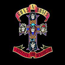 gims n roses - appetite for destruction CD 1987 geffen BMG Direct 12 tracks used mint