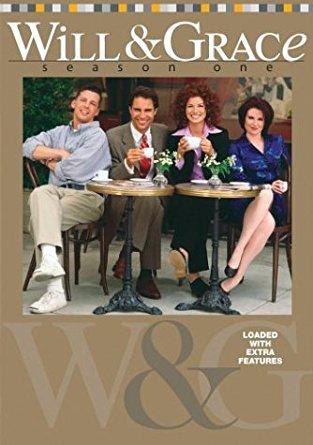 will & grace season one DVD 4-disc set 2003 NBC lions gate new