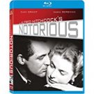 alfred hitchcock's notorious - cary grant + ingrid bergman BLURAY 2011 MGM Fox used mint