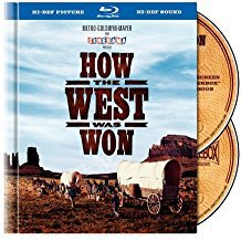 how the west was won BLURAY book packaging 2-discs 2008 turner warner used mint
