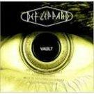 def leppard - greatest hits; vault 1980 - 1995 CD 1995 mercury autographed 15 tracks used mint