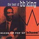 best of b b king - blues on top of blues CD 1994 cema 10 tracks used mint