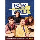 boy meets world - complete second season DVD 3-discs 2004 touchstone disney used