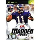 xbox - madden NFL 2002 EA players 2001 everyone used mint