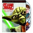 star wars - clone wars - complete season two DVD 4-discs 2011 warner used mint