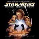 star wars episode III revenge of sith - soundtrack CD 2-discs 2005 sony used mint