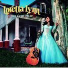loretta lynn - van lear rose CD 2004 interscope 13 tracks used mint