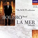 solti collection - bolero by ravel + la mer by debussy CD 1991 decca london used mint