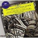 anton bruckner + eugen jochum - te deum motets psalm 150 CD 1996 Deutsche grammophon used mint